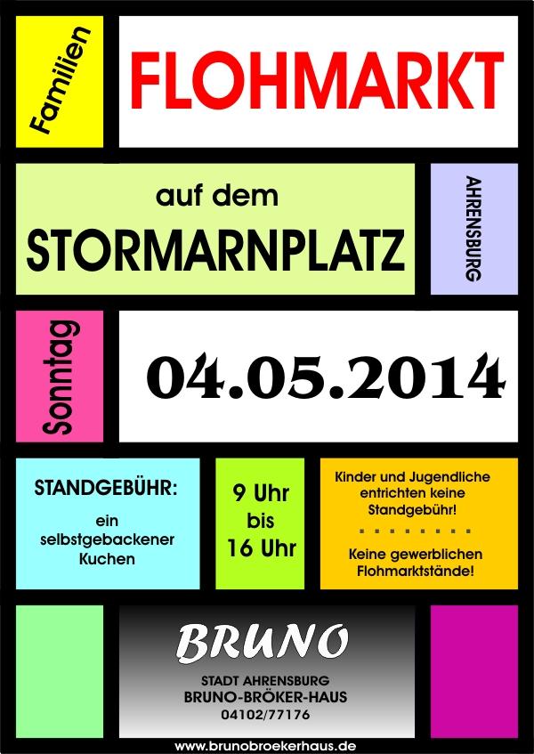 Flohmarkt am 4. Mai 2014